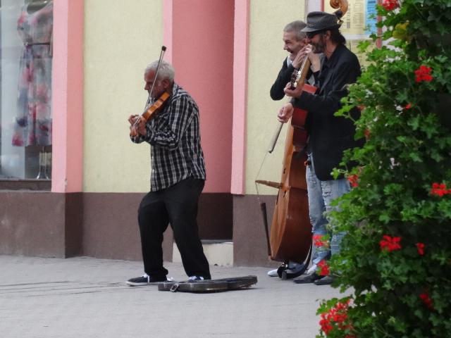 Street Musicians Poprad Tatry