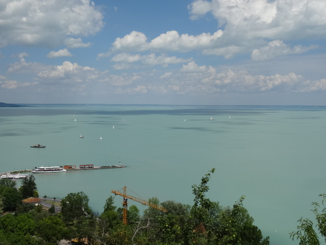 lake balaton in hungary is central europes largest lake