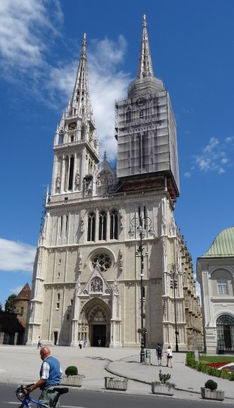 Cathedral Of The Assumption Of The Blessed Virgin Mary Zagreb