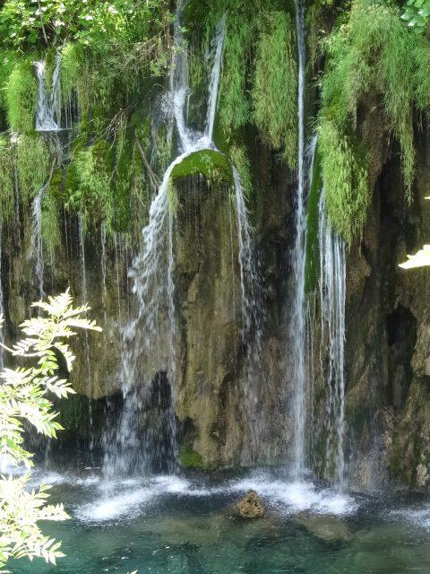 Plitvice Beautiful Waterfalls