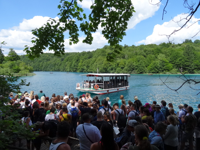 Ferry To Lower Lakes Plitvice