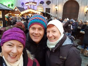 Visiting Munich Christmas Markets With Denise and Jan