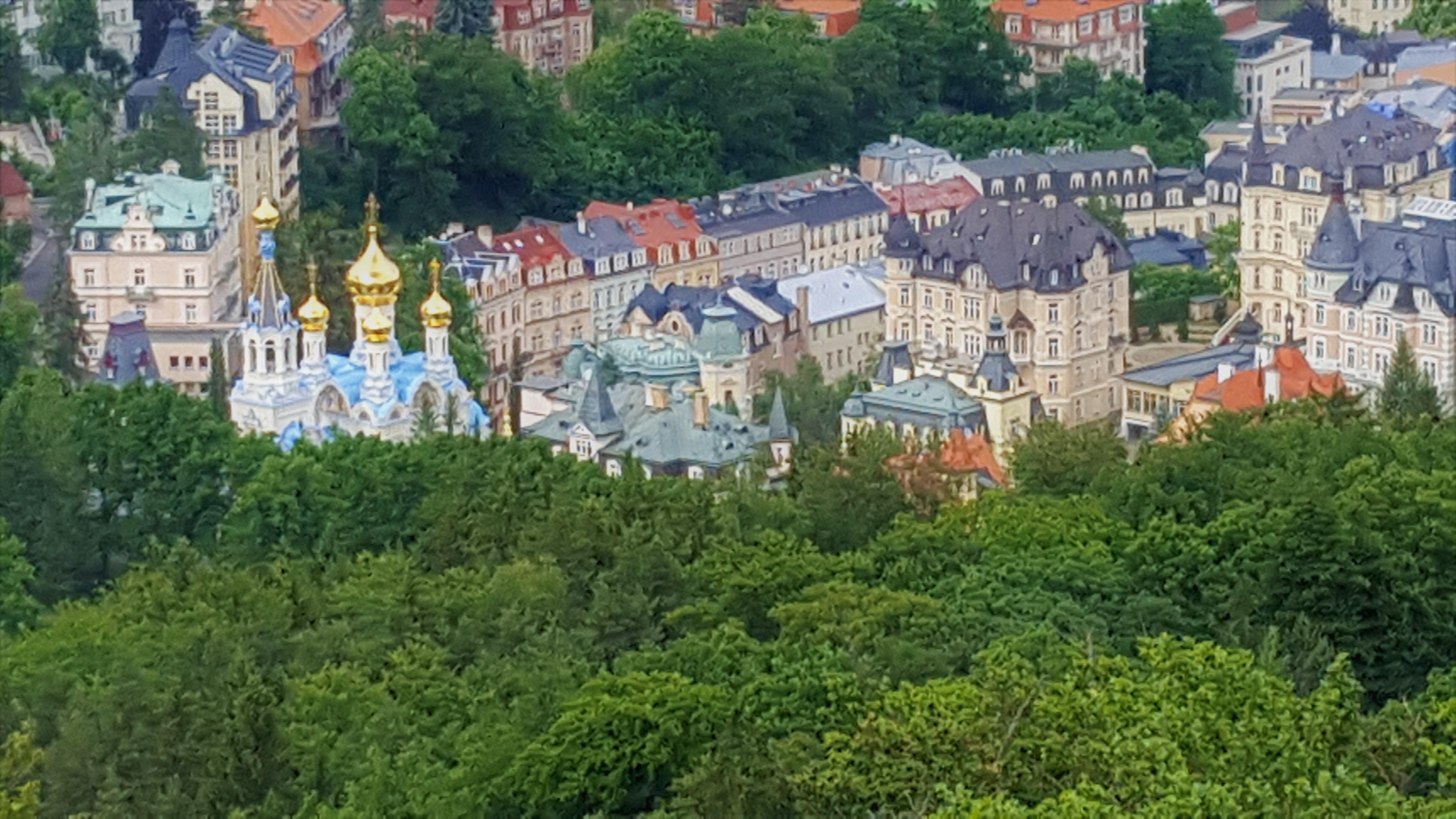 Beautiful Views Of Karlovy Vary
