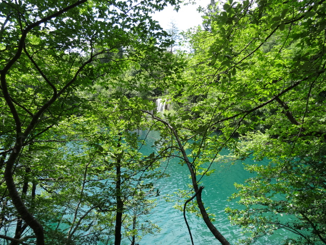 Plitvice Lakes turquoise water