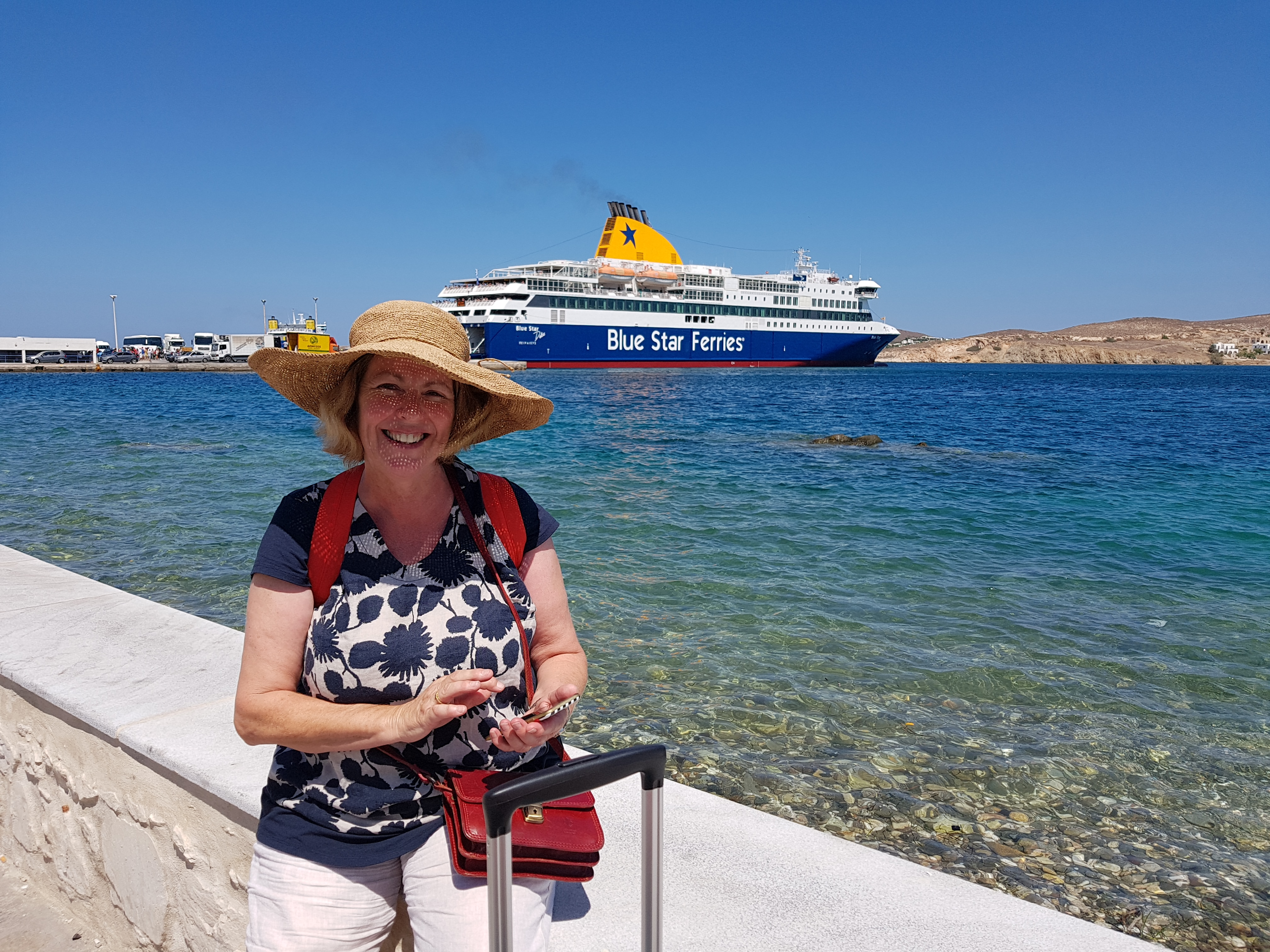 Sailiing The Aegean With Blue Star Ferries